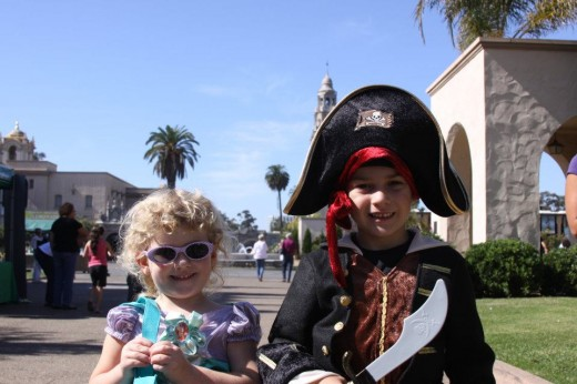 Balboa Park Halloween Family Day