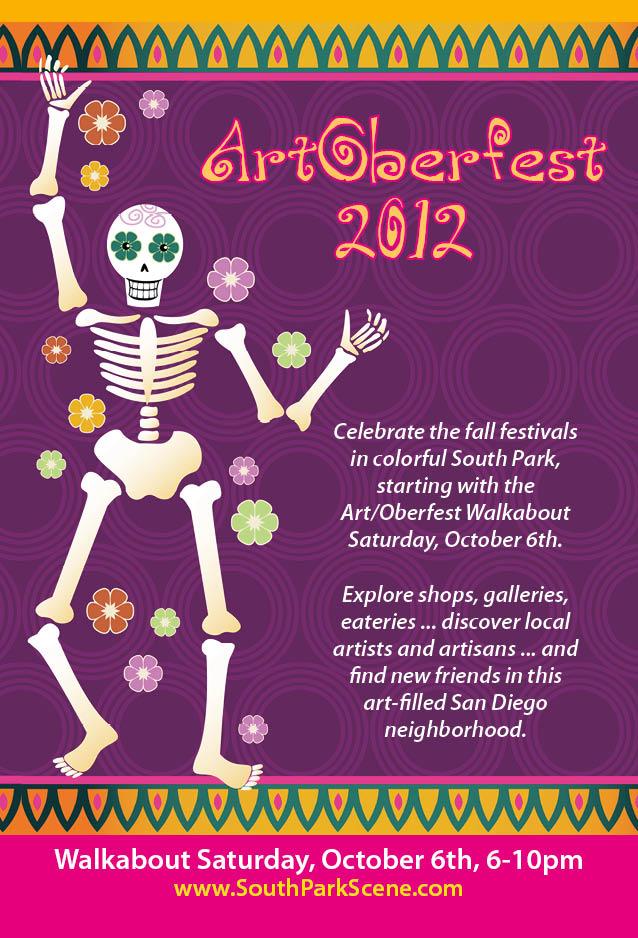 ArtOberfest Walkabout in South Park Flyer