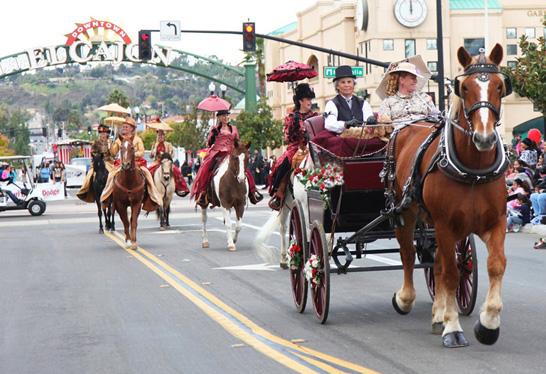 Horse Drawn Carriage - Mother Goose Parade