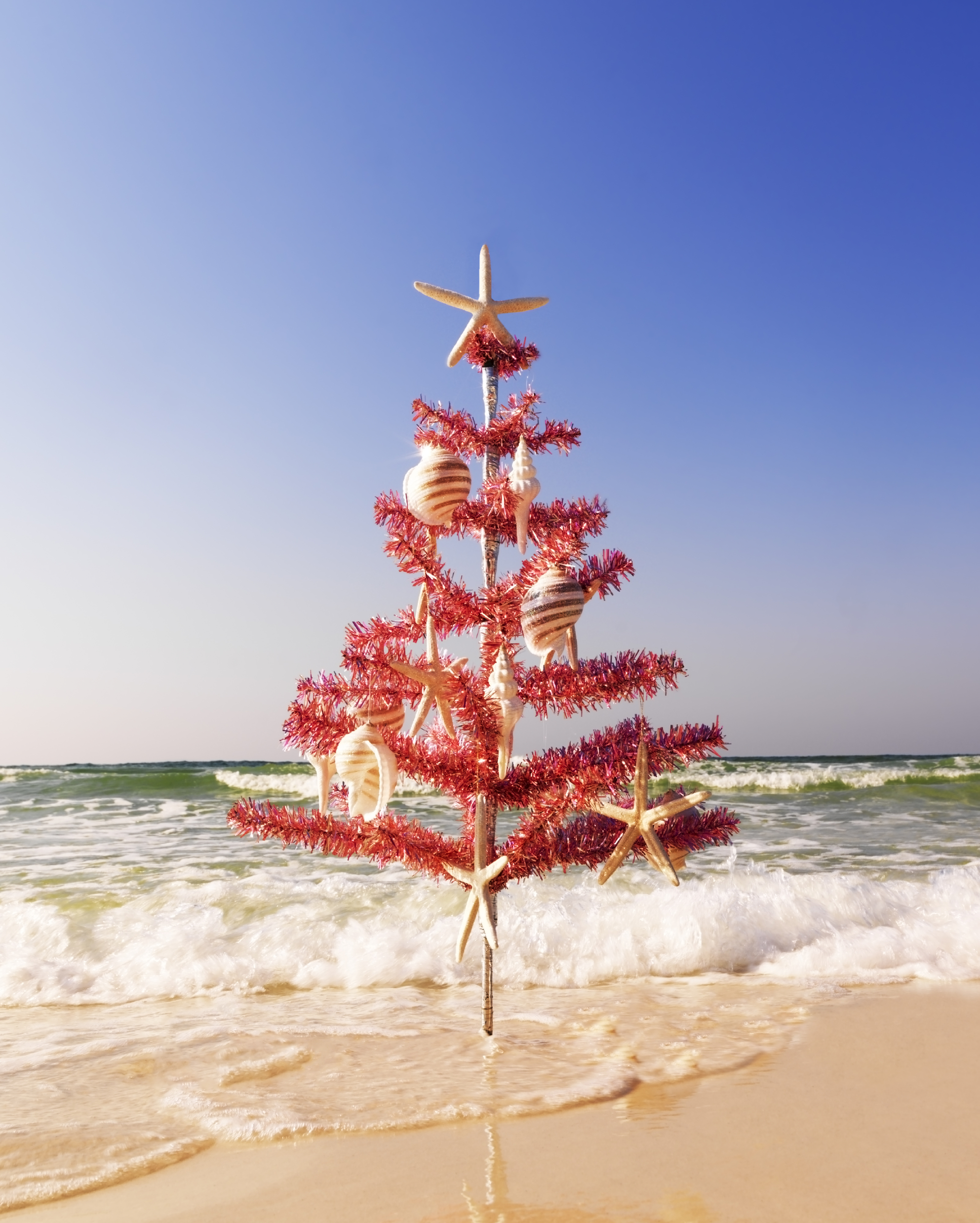 christmas tree on the beach - Christmas At The Beach