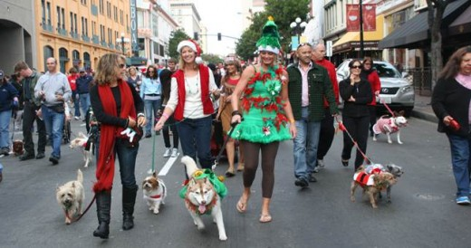 2011 Gaslamp Holiday Pet Parade
