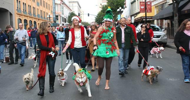 2011 Gaslamp Holiday Pet Parade