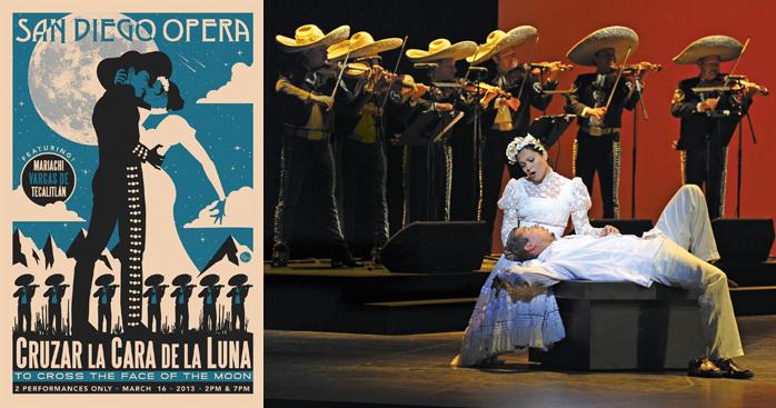 Cruzar La Cara at the San Diego Opera