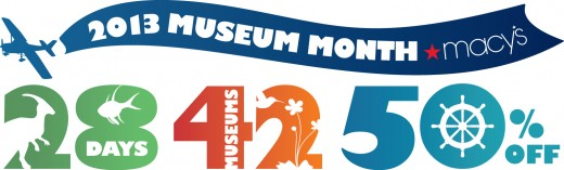 San Diego Museum Month Logo 2013