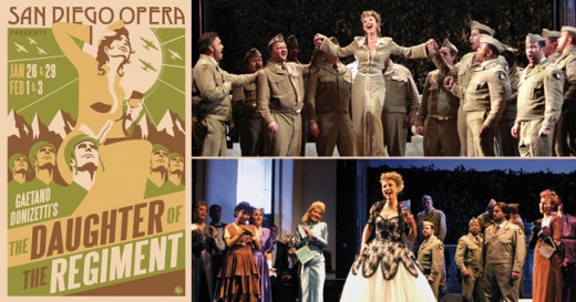 Winter San Diego Theatre - San Diego Opera - Daughter of the Regiment