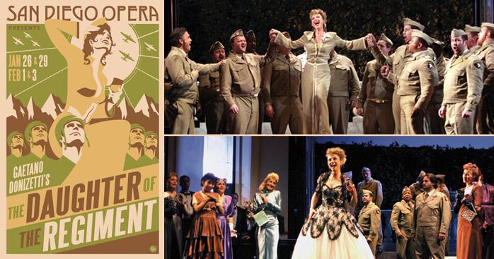 Winter San Diego Theatre - San Diego Opera - Daughter of the Regiment