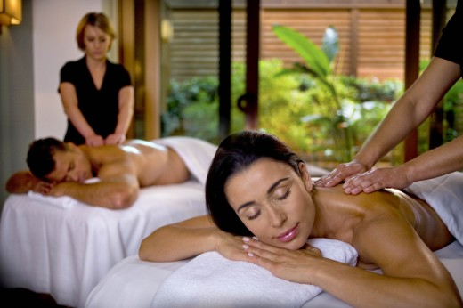 Couples Spa Massage - Valentine's Day Sweetheart Spa Treatments