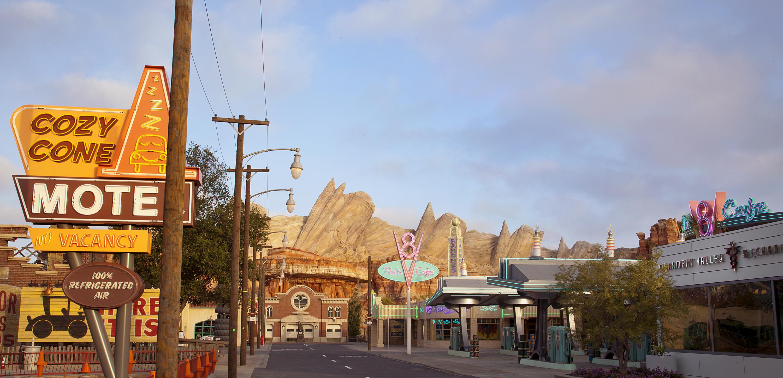 Cars Land - Disneyland Resort's California Adventure