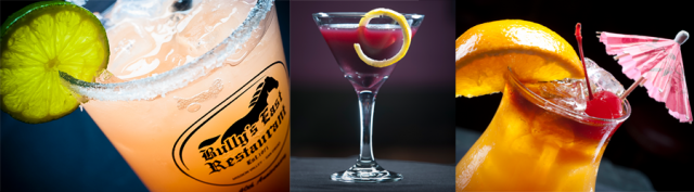 Bully's East cocktails