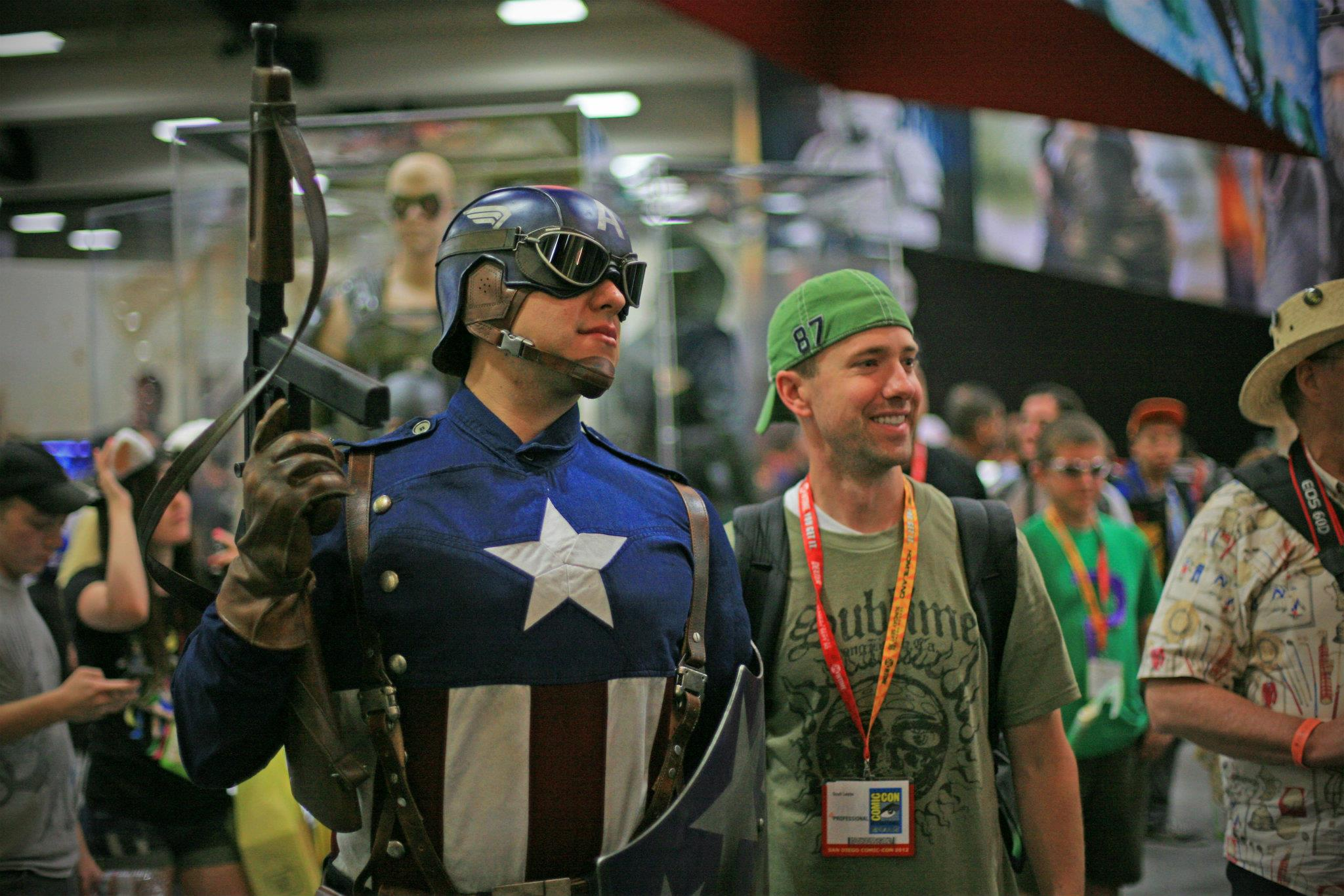 Captain American at Comic-Con International - Top Things to Do in San Diego