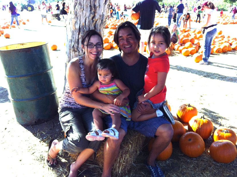 Family at Pumpkin Patch - Fall Activities for Kids