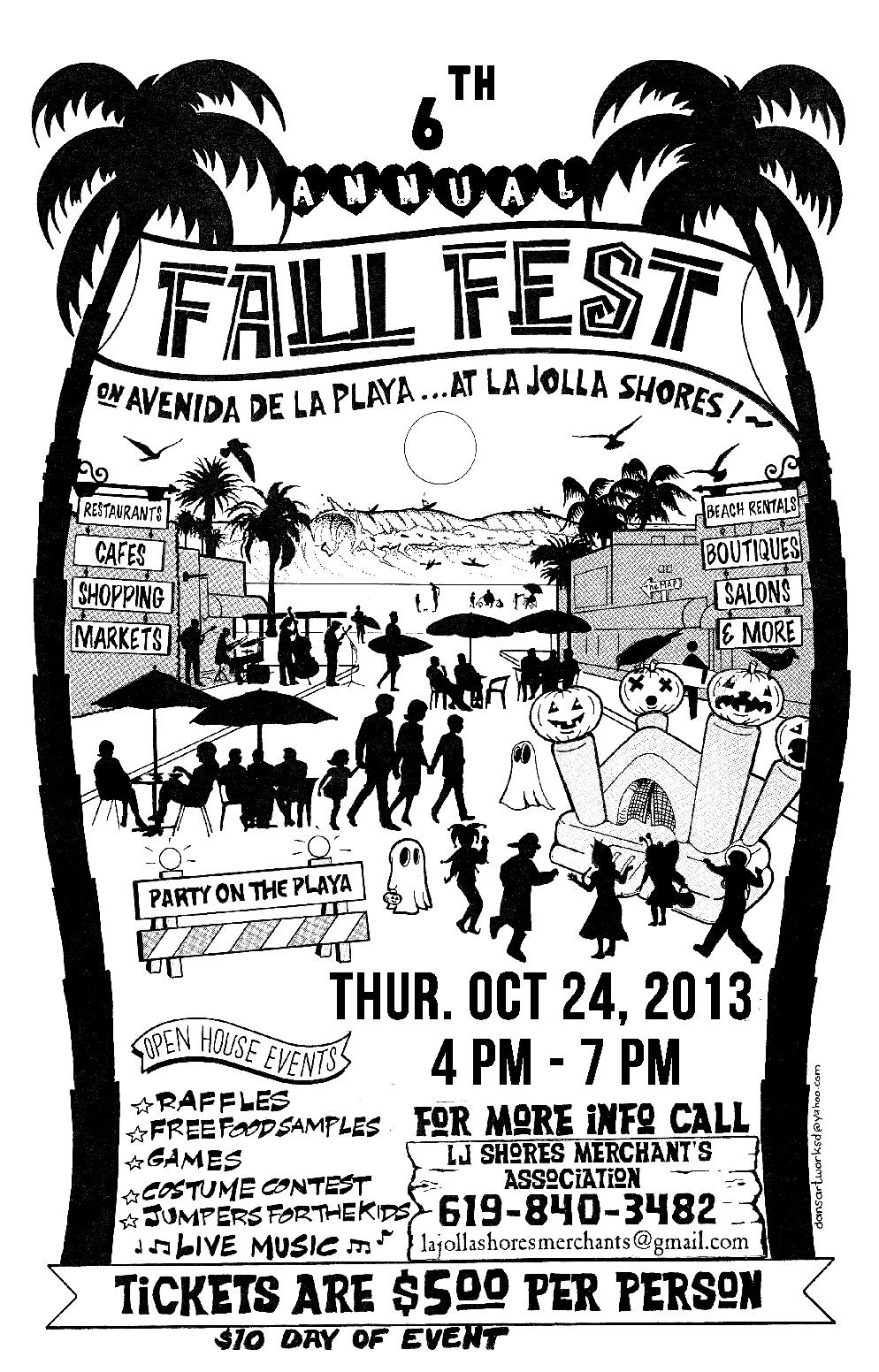 La Jolla Shores Fall Festival 2013 San Diego