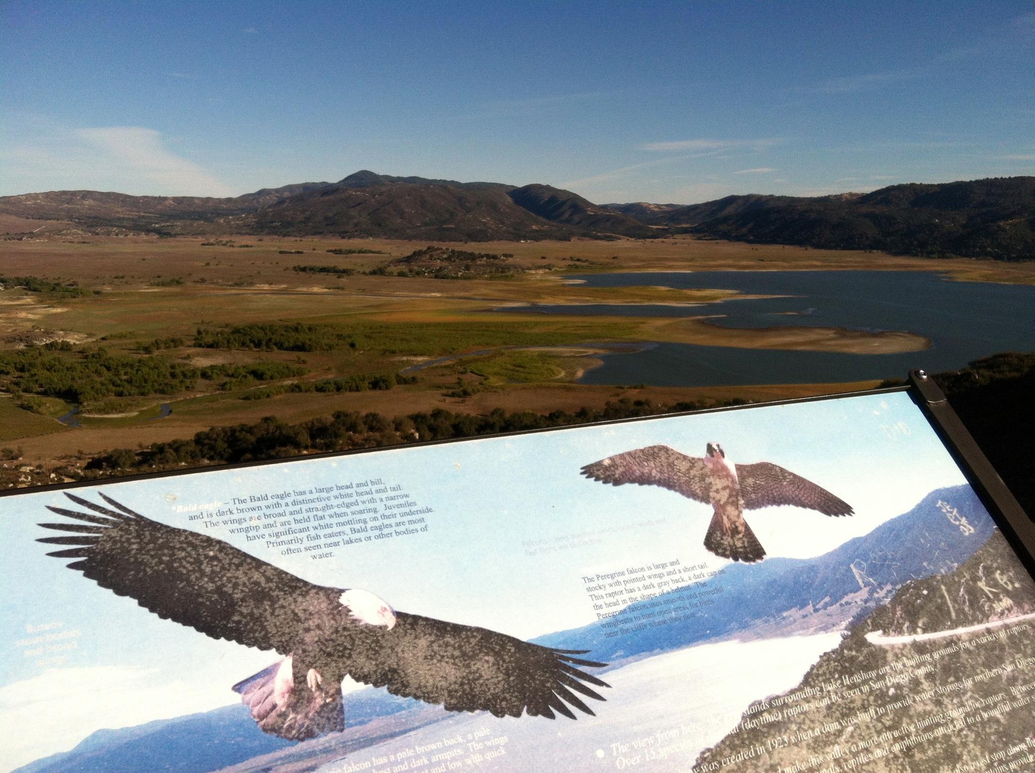 Lake Henshaw Vista Point San Diego Travel Blog
