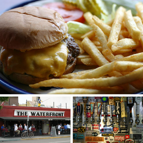 waterfront san diego restaurant tavern burger
