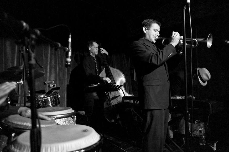 Gilbert Castellanos jazz jam at seven grand whiskey bar San Diego