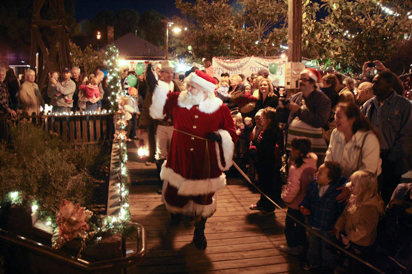 Christmas in the Park at Old Poway Park San Diego