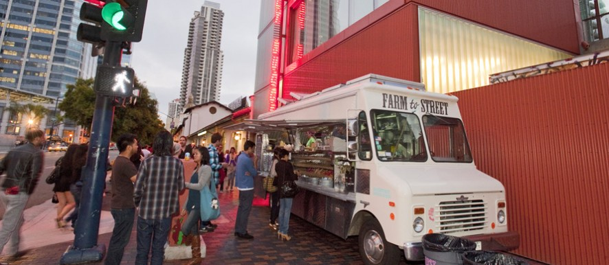 MIHO Gastrotruck at the Museum of Contemporary Art San Diego TNT