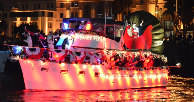 San Diego Bay Parade of Lights - Top Things to Do in San Diego