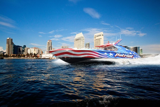 Flagship Patriot Jet Boat Tour