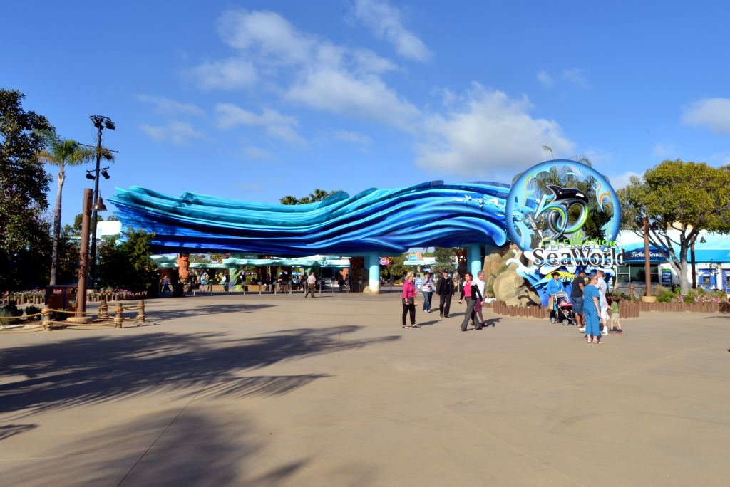 Seaworld San Diego Entrance San Diego Travel Blog