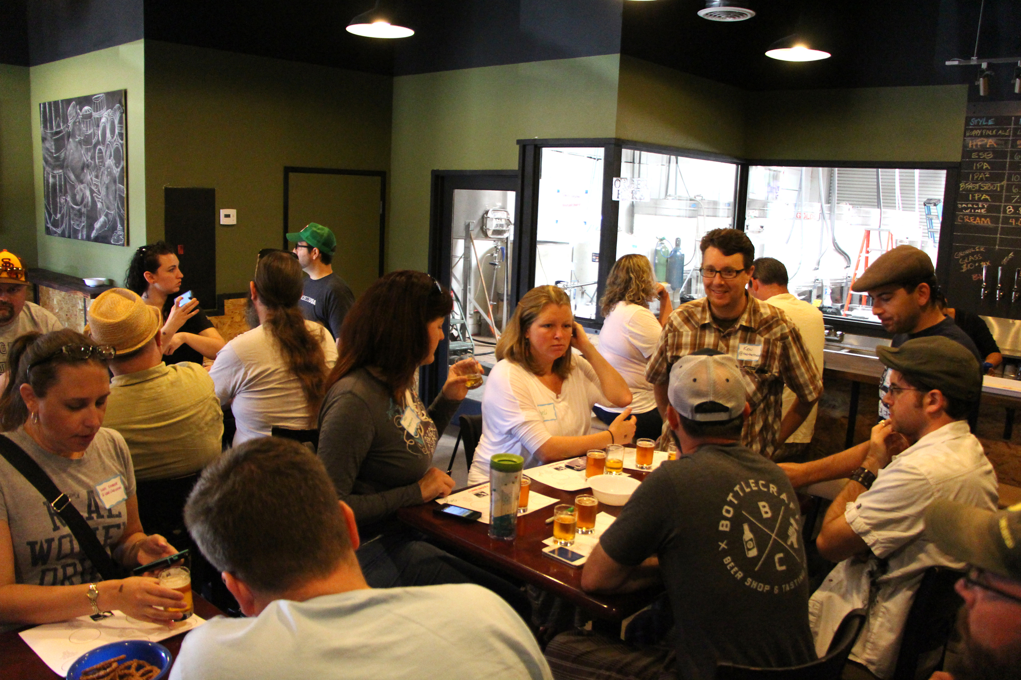 Butcher's Brewing Tasting Room - Stop #1 on the Santee Brewery Crawl