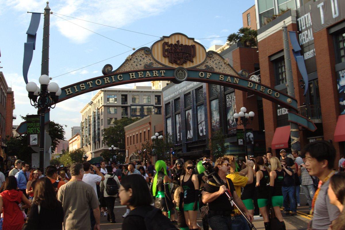 San Diego Comic-Con Gaslamp Quarter