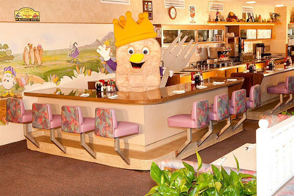 Sir Wafflelot welcomes diners for some retro dining at the Waffle Spot
