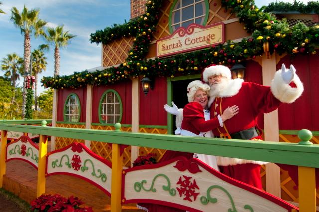 Santa's Christmas Village - SeaWorld San Diego