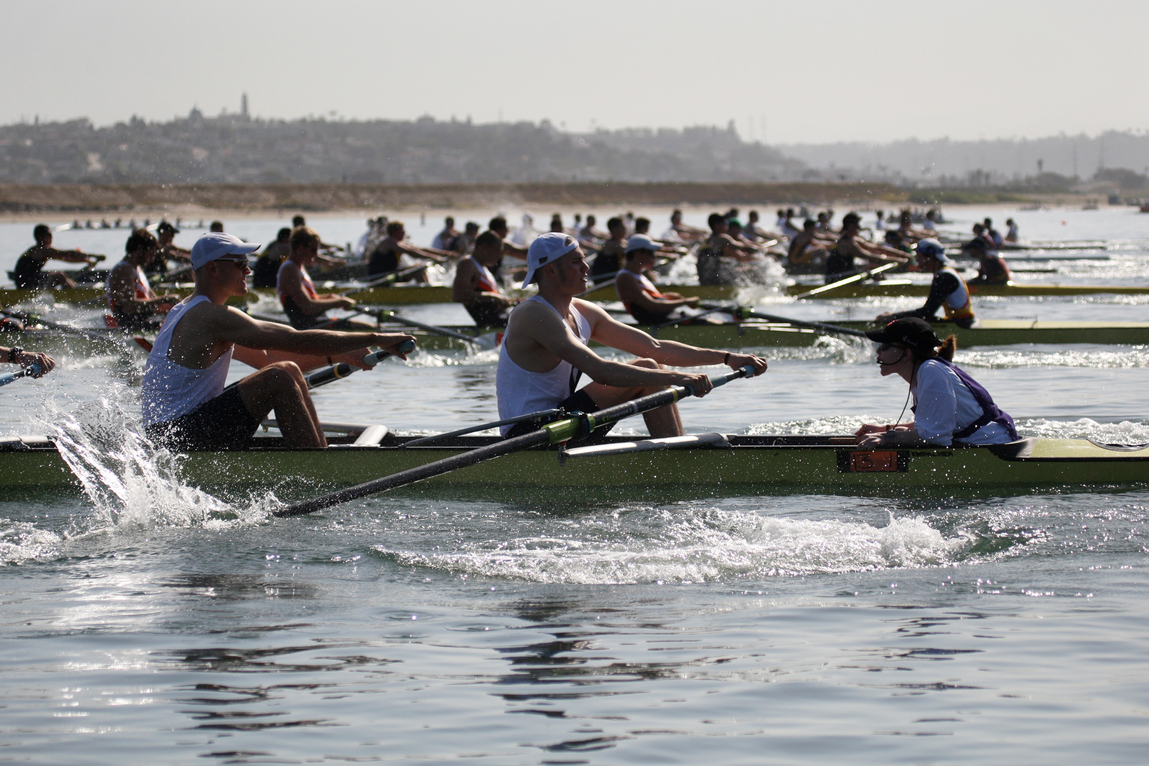 Mens Competition - San Diego Crew Classic