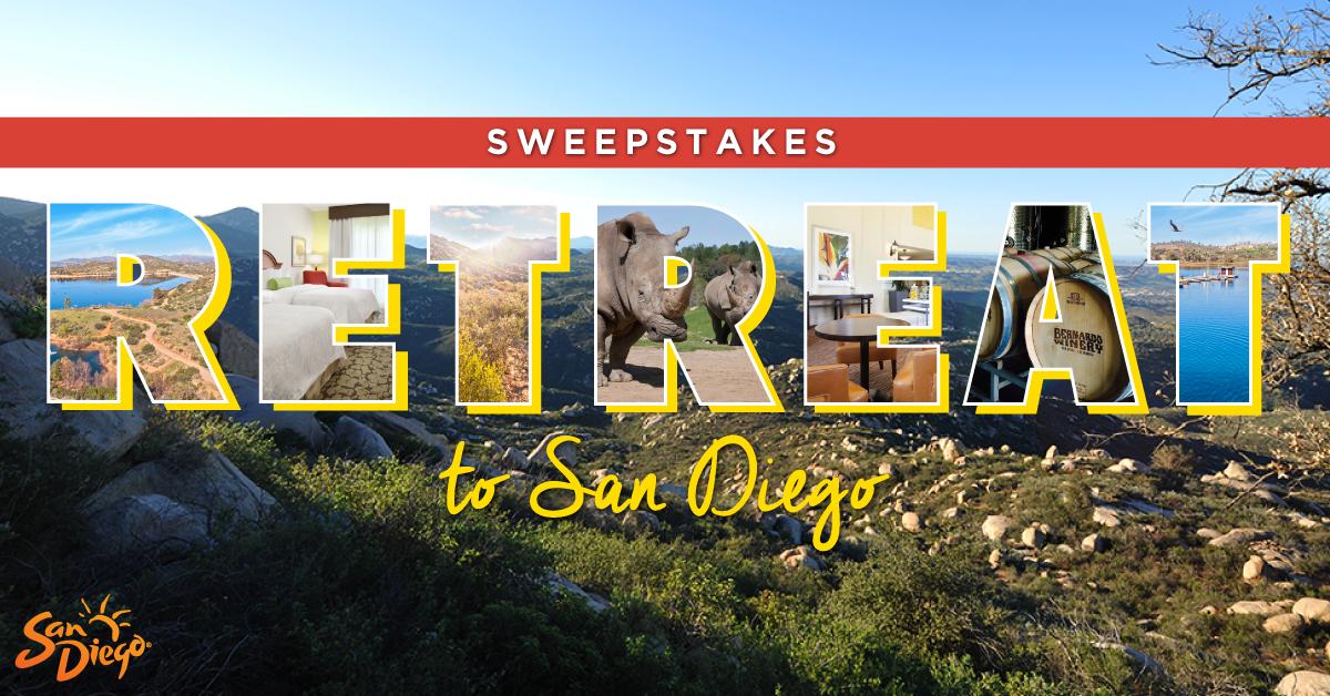 Retreat to San Diego Sweepstakes