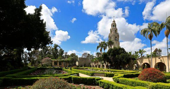 Alcazar Garden in Balboa Park