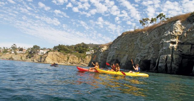 Kayaking in La Jolla - Top Things to Do in San Diego