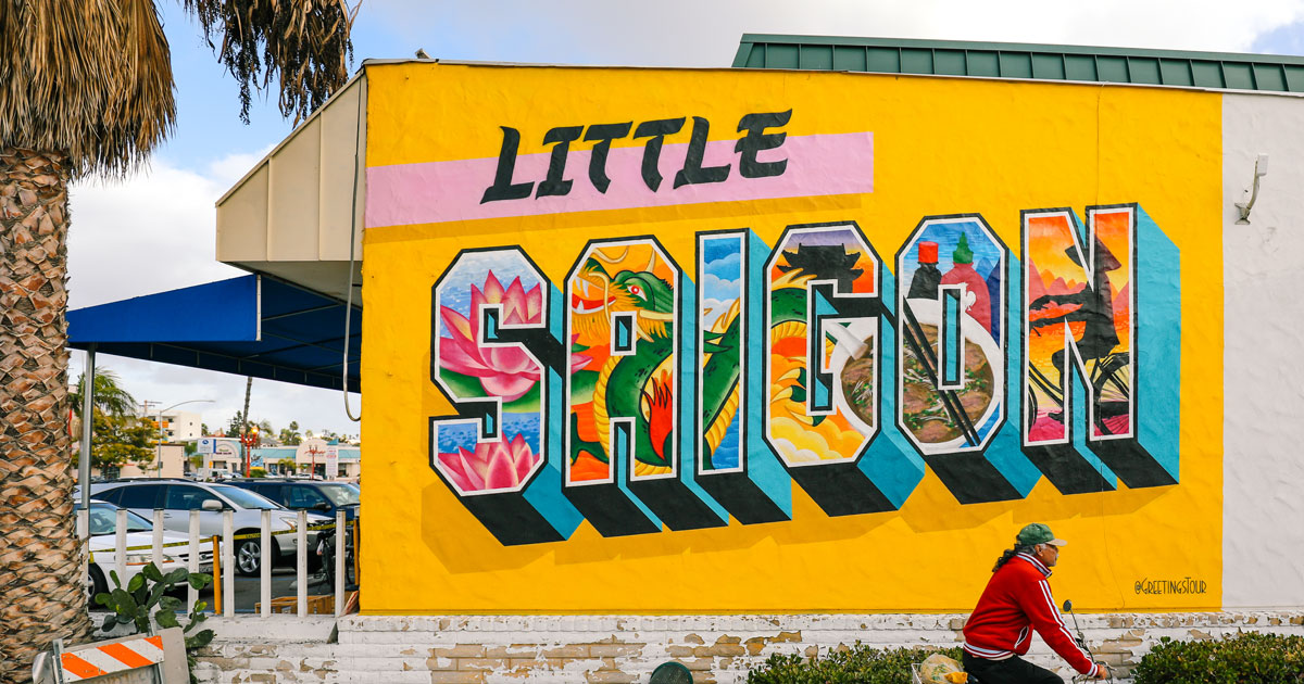 Little Saigon Mural