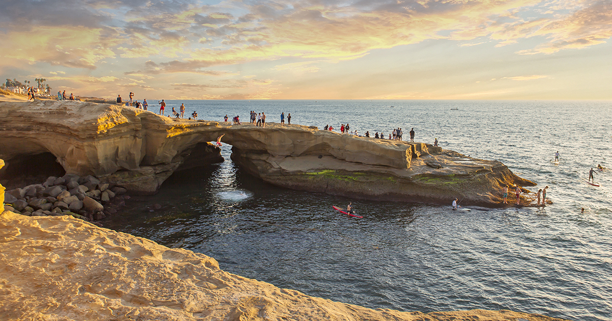 Sunset Cliffs - Three San Diego Beach Cities with Quintessential SoCal Vibe