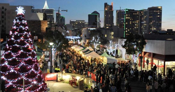 Little Italy Tree Lighting & Christmas Village - Top Things to Do in San Diego
