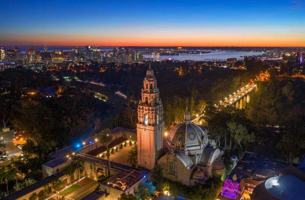 Balboa Park Aerial