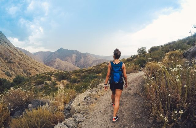 Woman Hiking Cedar Creek - Top Things to Do in Diego