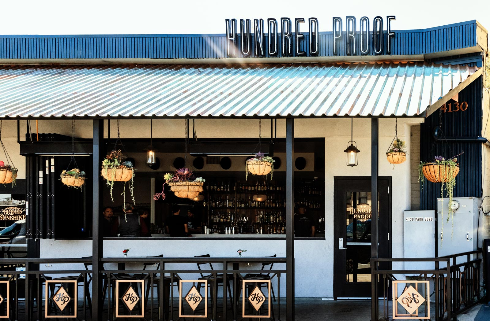 Hundred Proof on Park Boulevard