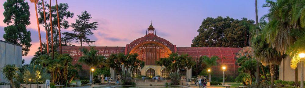 Botanical Building in Balboa Park