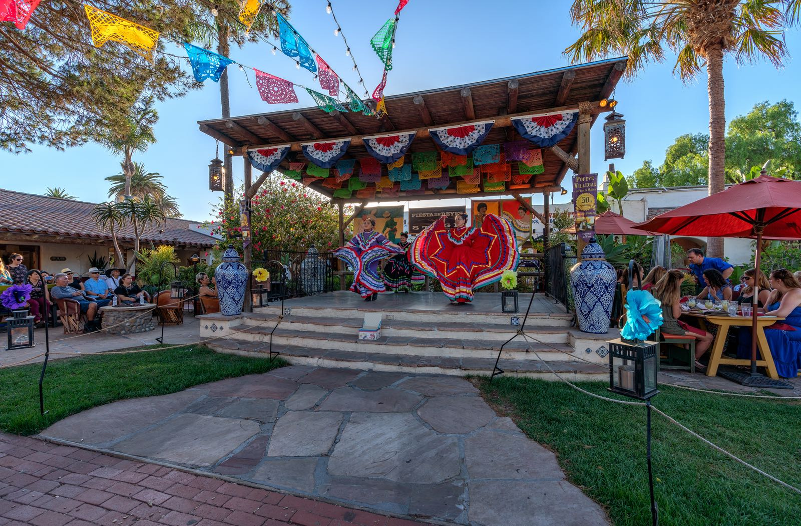 Folklorico Dancers in Old Town San Diego State Historic Park - Top Things to Do