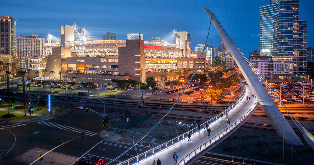 Petco Park in Downtown San Diego