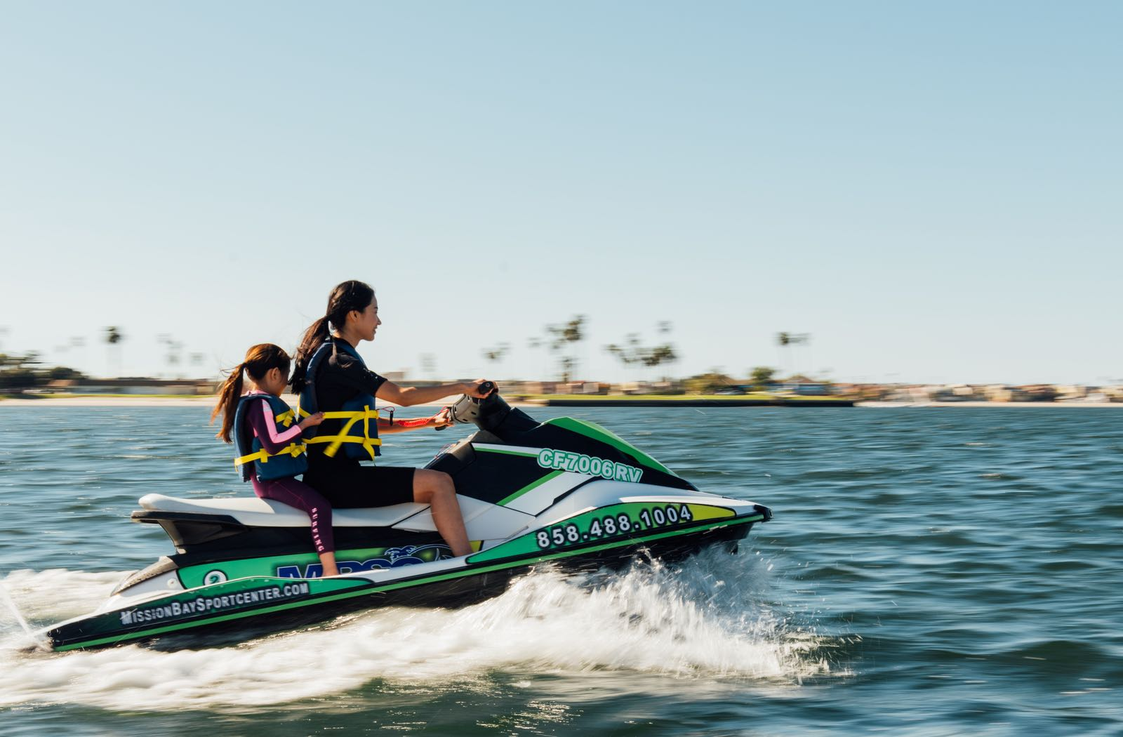 Mom and Daughter on a Jet Ski - Top Things to Do