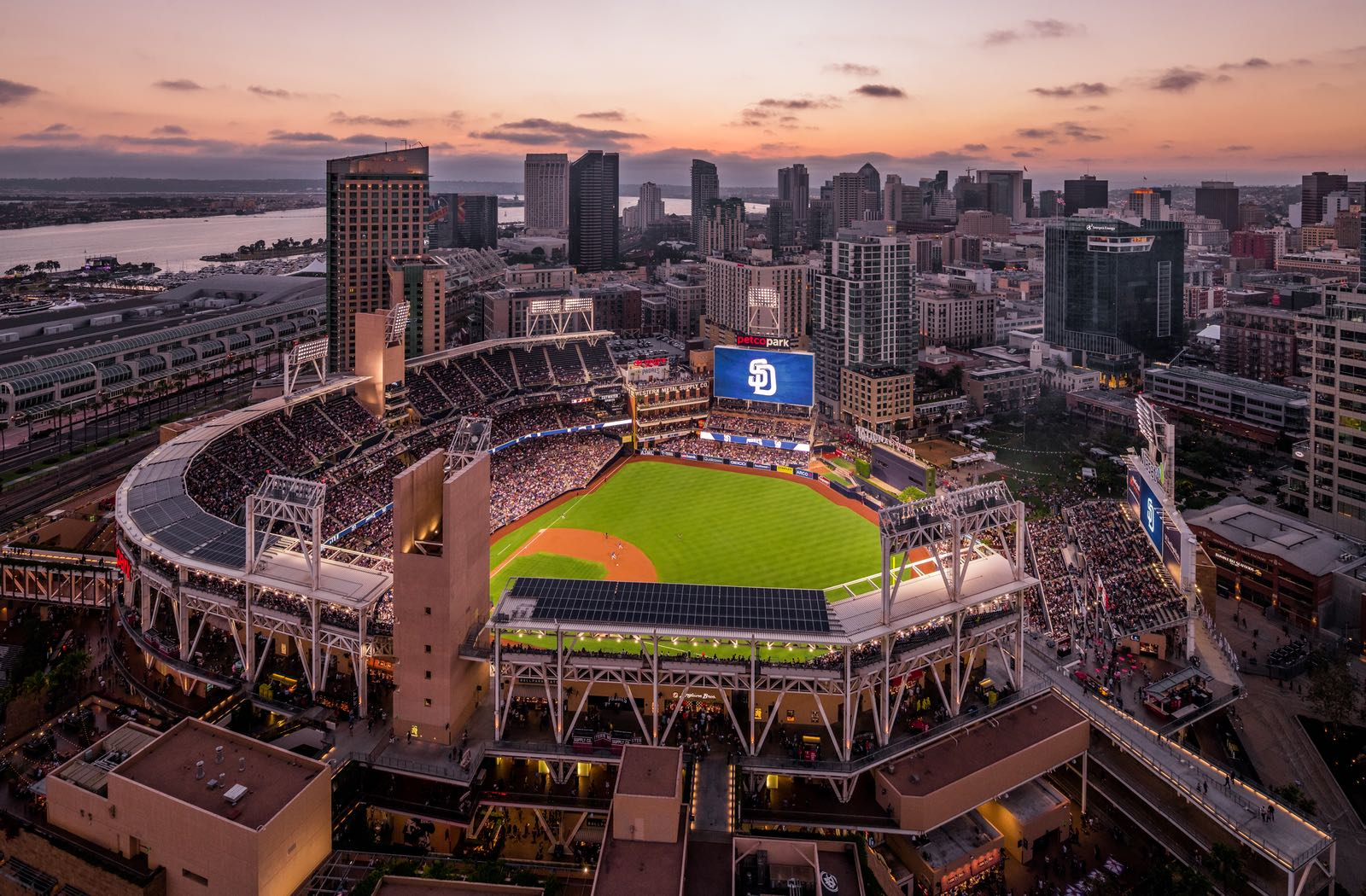 Dusk at Petco Park - Top Things to Do in San Diego
