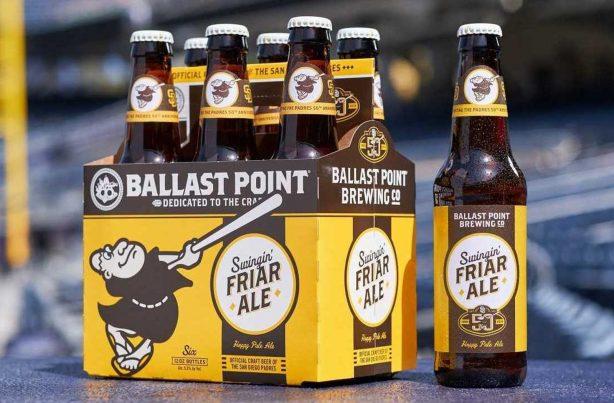 Swinging Friar Ale - San Diego Padres themed Beer