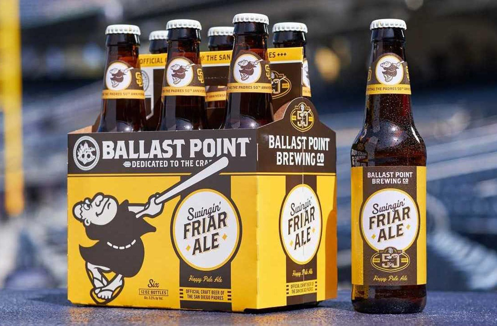 Swinging Friar Ale - San Diego Padres themed Beer