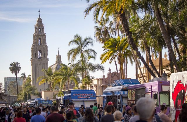 Food Truck Fridays in Balboa Park