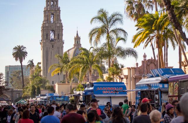 Balboa Park Food trucks