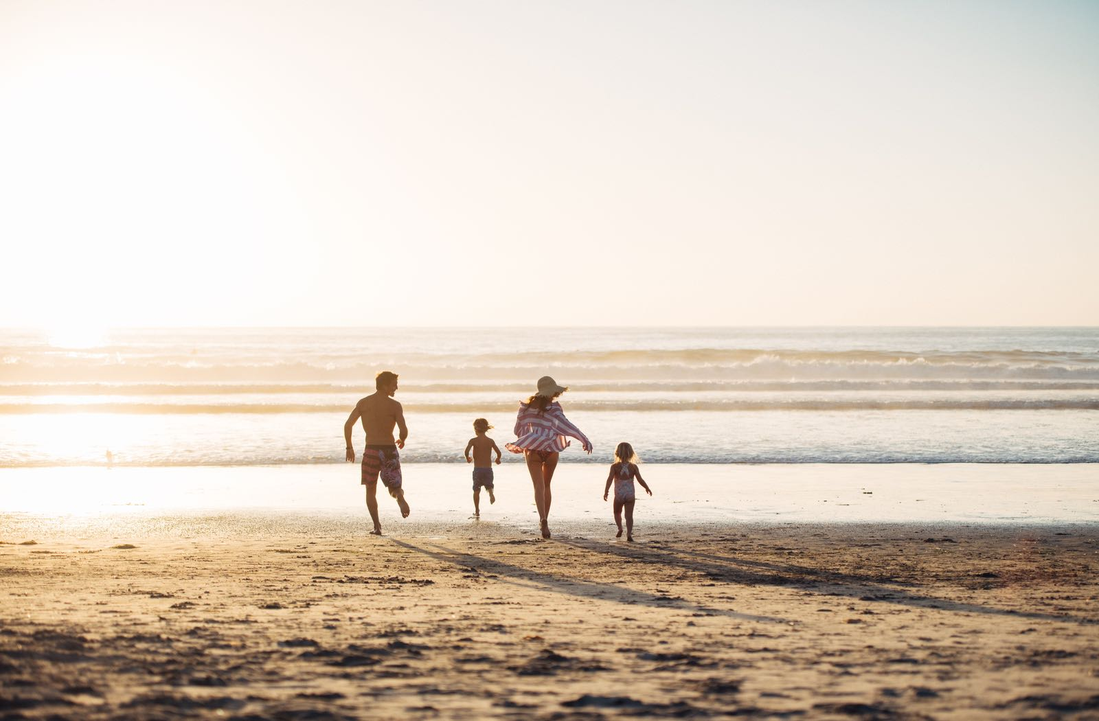 Family on La Jolla Beach - Top Things to Do in San Diego