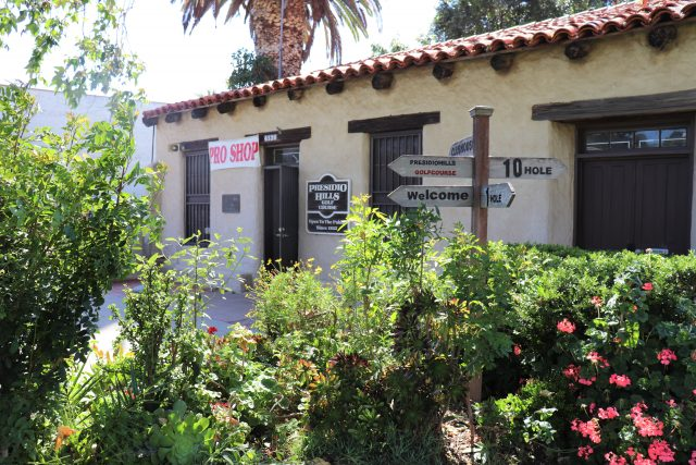 Casa de Carrillo in Old Town San Diego State Historic Park