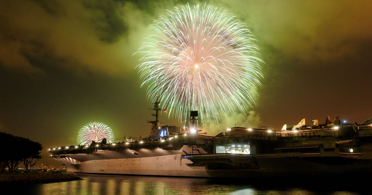 Top Things To Do For Fourth Of July In San Diego